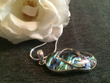 Unbranded Abalone Shell Silver Plated Fashion Necklaces & Pendants