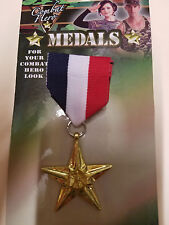 Military Medal Army Navy Air Force Marine Uniform Costume Accessory