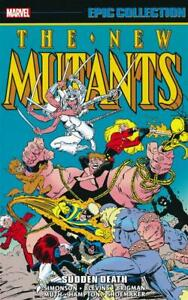 New Mutants Epic Collection 5 TPB Sudden Death Softcover Graphic Novel