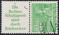 BERLIN 1952, Zusammendruck S 6, gestempelt, Mi. 85,-
