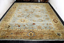 New listing 12X15 Breathtaking Mint 300+Kpsi Hand Knotted Vegetable Dye Pak Tabrizz Wool Rug