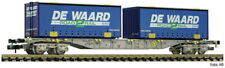 FLEISCHMANN N 845373 Containertragwagen AAE DE Waard Ep VI NEU OVP Container