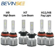 For Mazda 6 2009-2010 H9 H7 H11 LED Headlight High Low Beam Fog Light Combo Bulb