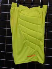 Reusch Soccer Goalie Short Padded Shorts Adult Medium Phantom 3618200S Yellow