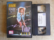 Tina Turner ‎ Live - Private Dancer Tour , David Bowie - cassetta video VHS
