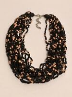 Vintage Glass Seed Bead Collar Necklace
