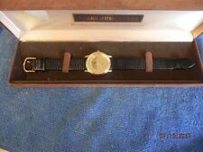 Jules Jurgensen men's quartz wrist watch with display case