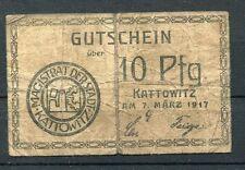 À Katowice 10 pfennig notgeld 1917 d'occasion