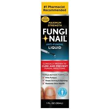 Fungi Nail Toe & Foot Brand Maximum Strength Anti-Fungal Solution 1 Fl. Oz. Box