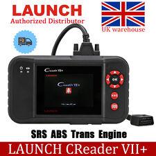 Launch X431 Creader VII+ Auto OBD2 EOBD Scanner Code Reader Diagnostic Tool