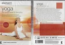 YOGA FOR STRESS RELIEF & FLEXIBILITY Element NEW DVD (Region 4 Australia)