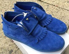 Diamond Supply Co Jasper IBN X Oneness Blue Suede SIZE 10 NEW WITH BOX