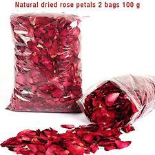100g Red Natural Dried Rose Petals Flower Rose Petals For Foot Bath Bodsp