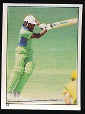 1984 Scanlens Cricket Sticker unused number 51 Qasim Omar