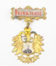 Musterungsabzeichen Infanterie Kaiser Wilhelm 2