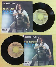 LP 45 7'' BONNIE TYLER It's a heartache Got so used 1978 italy RCA no cd mc dvd*