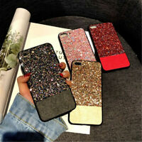 1PC Bling Glitter Phone Cover For iphone 6 6s 7 8 Plus X Luxury Shiny Phone Case