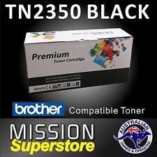 1x TN2350  BLACK Toner Cartridge for Brother HL 2380DW MFC L2700DW MFC 2703DW