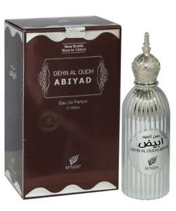 dehn al oudh abiyad 100 ml perfume amber spray