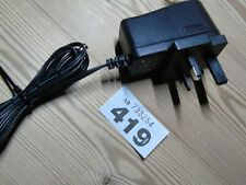 12V 1A DC UK 3 Pin Plug Power Supply LED lights/screen/CCTV cameras  #419