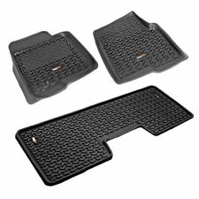 New All Terrain Floor Liner Kit 1St And 2Nd Row Black Ford F150 09-10 X 82989.21