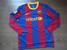 FC Barcelona 100% Original Jersey Shirt L 2010/11 Home Good Condition LS Rare