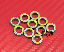 4pcs MR74-2RS (4x7x2.5 mm) Yellow Rubber Sealed Ball Bearing Bearings 4*7*2.5