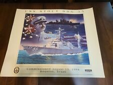 Military navy ship commissioning Posters