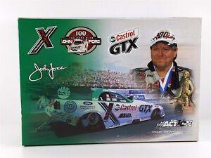 Action John Force Castrol GTX 100 Wins 2002 Mustang Funny Car 1:16 Diecast NIB