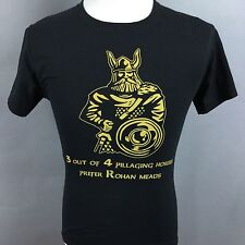Rohan Meads Pillaging Hoards Men's S Black Tee T-Shirt Meadery Viking #G0004