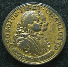 1761 George III Charlotte Marriage Medal Gilt