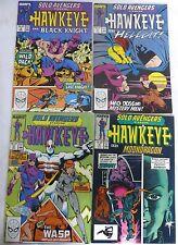 Marvel Solo Avengers Hawkeye #4 9 15 16 Black Knight Hellcat Wasp Moondragon 9.6