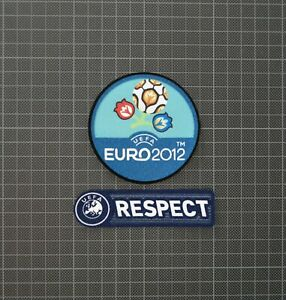 UEFA Euro 2012 & RESPECT Sleeve Patches/Badges