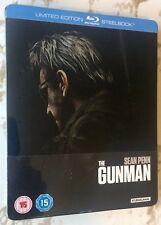 The Gunman Steelbook - UK Exclusive Limited Edition Blu-Ray  **Region B**