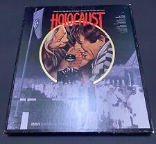 Holocaust NBC Miniseries CED RCA Selectavision VideoDisc - 4 Disc Set, Rare, VTG