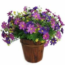 Daisy Plastic Dried & Artificial Flower Bunches