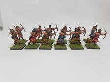 28mm 12 X Painted Cretan / Greek Archers Saga Swordpoint Black Tree Designs