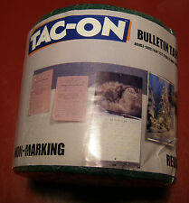 Tac-On Lot 4 Rolls Forest Green non-marking tape display children's Arts Crafts