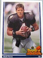 1991 Upper Deck Brett Favre Rookie card