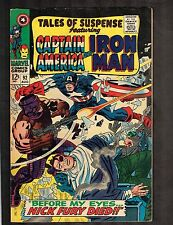 Tales of Suspense #92 ~ Iron Man/ Captain America/ Nick Fury ~ 1967 (7.0) Wh