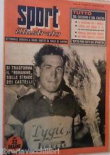 SPORT ILLUSTRATO N 33 18 agosto 1955 Fornara e Nencini Magni e Minardi Fallarini