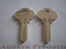 S4 SARGENT KEY BLANK / 50 KEY BLANKS / NICKEL PLATE / FREE SHIPPING