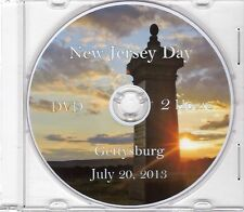 New Jersey Day at Gettysburg July 20,2013 (The DVD)