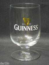 NEW GUINNESS IRISH STOUT BEER PUB BAR COLLECTORS HALF PINT DRINKS GOBLET GLASS