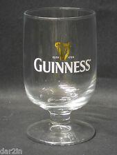 NEW GUINNESS IRISH STOUT BEER PUB BAR COLLECTORS HALF PINT DRINKS GOBLET GLASS