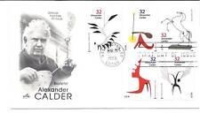 3198-02 Alexander Calder on 1 ArtCraft, FDC