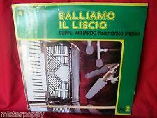 BEPPE MILIARDO Balliamo il liscio LP 1970s ITALY MINT Fisarmonica Accordion