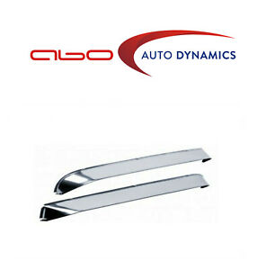 AVS 12059 Chevy / GMC Ventshade Window Deflectors 2pc - Stainless