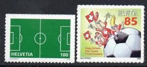 SWITZERLAND MNH 2008 SG1760-61 European Football Championships