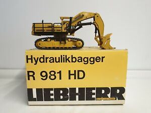 Sijam Liebherr R981 HD Excavator 1/50 Scale Model